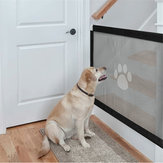 Mesh Magic Pet Dog Gate Safe Guard Dan Instal Anywhere Pets Enclosure Safety Gateway US