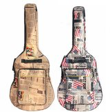 41 Inch Water-resistant Oxford Cloth Double Padded Straps Guitar Gig Bag Guitar Carrying Case