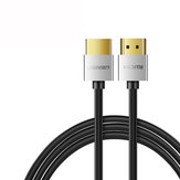 Ugreen 4K HDMI Cable Slim HDMI to HDMI 2.0 Cable 60Hz Audio Video Cable for PS4 Apple TV Splitter Switch Box
