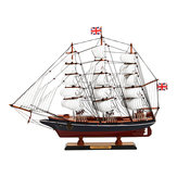 Wooden Nautical CUTTY SARK Sailing Boats Model Sailboat Ship Model Kit Decor 65x12x48cm