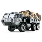 Eachine EAT01 1/16 2.4G 6WD RC Car Proportional Control US Army Military Off Road Rock Crawler Truck RTR Modello di veicolo