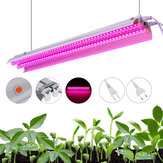 96LED Grow Light Tube Full Spectrum Indoor Planta lamp Greenhouse Double Tube