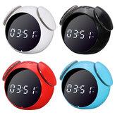 Alarme sem fio do alto-falante bluetooth Relógio para Smartphones Tablet