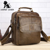 Echt lederen schoudertas Business Man Bag Messenger Bag voor mannen Crossbody tas