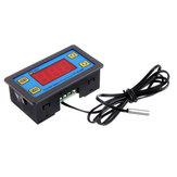 3pcs W1308H LED Microcomputer Digital Display Temperature Controller Adjustable Thermostat Intelligent Time Controller 220V