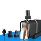 360 ° Dalgıç Alt Fonksiyon Pompa Düşük Gürültü Kuru Yanmayı Önleyin Frekans Dönüşüm Suyu Pompa Akvaryum Fıskiyeler için