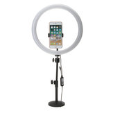 13 Inch RGB Dimbare LED Video Ring Light Selfie Lamp Voor Camera Make-up Youtube Live