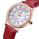 WWOOR 8807 Ultra Thin Elegant Design Ladies Wrist Watch
