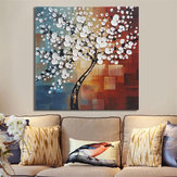 Emoldurado Abstract Flower Tree Canvas Print Óleo Pinturas Imagem Home Art Decorations