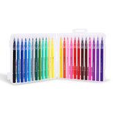 M&G 12/18/24 Kolory Zestaw długopisów akwarelowych Soft Zestaw pędzli do rysowania Manga Zestaw rysunków Kolorowe długopisy do szkicu Dostaw sztuki Prezenty dla dzieci w wieku szkolnym