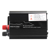 Solar Power Inverter USB Modified Sine Wave Converter DC 12V to AC 220V Car Power Inverter Charger Adapter