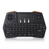 Viboton i8 Plus Inglês 2.4G Wireless Mini Touchpad Teclado Air Mouse Airmouse Controle Remoto para TV Caixa Mini PC