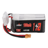 URUAV 14.8V 1000mAh 120C 4S Lipo Battery XT30 Plug for RC Racing Drone