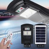 108/216/324LED Solar Street Light Motion Sensor Garden Wall Lamp with Remote Controller