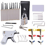 37Pcs Powerful Locksmith's Tools Kit Combination Lock Pick Hook and Lock Pick Tool
