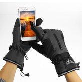 Zimowy wodoodporny ekran dotykowy Rękawice rowerowe Snowboardowe rowerowe rękawiczki termiczne