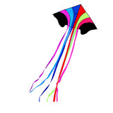 1.4m arc-en-ciel sport de plein air volant cerf-volant portable Colorful Soft