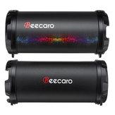 Beecaro S41B Haut-parleur stéréo portable Bluetooth extérieur avec 1200mAh Batterie Support FM Radio Mic