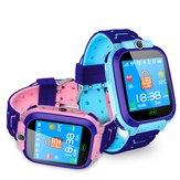 Bakeey LBS + GPRS Pozisyon GSM IP68 Derin Su Geçirmez Mikro SIM Kart SOS Acil Alarm Çocuklar İzle Akıllı İzle