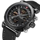 NAVIFORCE 9132 Waterproof Student Dual Display Watch