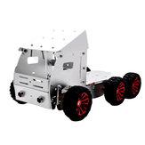 DIY الألوميني ذكي RC روبوت سيارة شاحنة الهيكل قاعدة مع المحرك