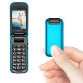 L8star BM60 1.1 Inch 300mAh bluetooth Dial MP3 Player FM Magic Voice Single SIM Flip Music Mini Card Phone
