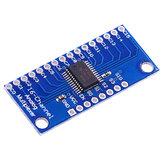 5 sztuk ADC CMOS CD74HC4067 16-kanałowy analogowy cyfrowy moduł multipleksera Kontroler płytki czujnik Geekcreit dla Arduino - produkty współpracujące z oficjalnymi płytami Arduino
