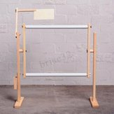 S / M / LCRoss Stitch Frame Hoop Embroidery Rack Supporto regolabile in legno Desktop U