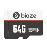 BIAZE 64GB/128GB/256GB Memory Card High Speed TF Card Data Storage Micro SD Card for Car Driving Recorder Security Monitor Camera 16G 32G