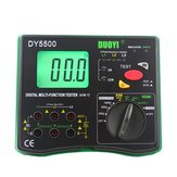 DUOYI DY5500 4-in-1 digitale multifunctionele tester Multimeter - isolatieweerstandstester + aardetester + voltmeter + fase-indicator