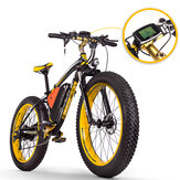 [EU Direct] RICH BIT TOP-022 26 '' 48V 17Ah 1000W Electric Mountain Bike 21 Speed Electric Bike 35km / h Top Speed 60km Mileage Range Max Load 185kg