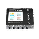 ToolkitRC&URUAV M600 150W 10A DC MINI Smart LCD 1-6S Lipo Battery Balance Charger Discharger With Voltage Servo Checker Receiver Signal Tester Quick Charger Function
