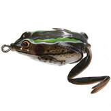 ZANLURE Crankbaits Tackle Köder Ray Frog Angelköder Süßwasserbass 40mm