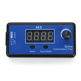 HJ Digital Servo Tester / ESC Consistency Tester untuk RC Airplane
