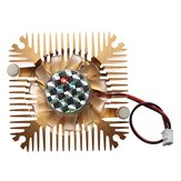 2 Pins 55x55x11mm 12V 0.1A Heat Sink CPU Cooling Fan PC Computer