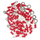 20Pcs 0.5-1.5mm² Ring Ground Isolated Electrical Crimp Terminal