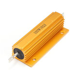 Watt power metal 100w shell caso wirewound resistor