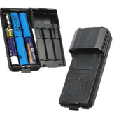 Extended 6x AA Battery Case Pack Shell For BaoFeng UV5R UV5RB UV5RE