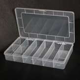 8 Compartments Storage Plastic Electronics Tool Gadgets Box Case