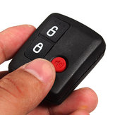 3 Knoppen Black Remote Key Shell Case voor Ford Territory Wagon