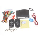 Carro kit de bloqueio keyless remoto da entrada central para mk4 golf vw mk5
