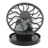 Portable Mini Solar Powered Clip Fan & Cooling Fan Energy Saving