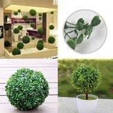 Plástico artificial bola topiária decoração da árvore de planta