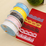 Decoratieve Lace Tape Gehuldigde Kant Lace Adhesive Tape Adhesive Stickers