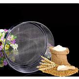Profesjonalne narzędzie do przesiewania mąki ze stali nierdzewnej o średnicy 21 cm