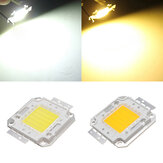 50W 4000LM Pure / Warm White High Bright LED Light Lamp Chip 32-34V