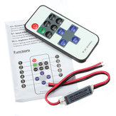 Mando a distancia 11Keys Mini Dimmer para Led Single Color Strip DC 12V
