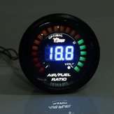 2 inch 52MM 20 LED digitale auto lucht brandstof ratio monitor racing meter