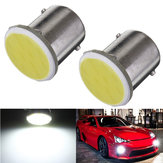 Car Trailer Interior 1156 BA15S COB LED Super White bulbs Light 1073
