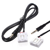 3.5mm Mini Jack AUX Audio MP3 Player Input Cable Adapter For Mazda
